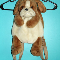 90s Plush Puppy Backpack by JUNKKYARD on Etsy