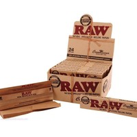 RAW Connoisseur 1 1/4 size with Tips