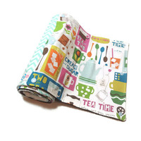 Tea Time Unpaper Towels from Nature Junkie