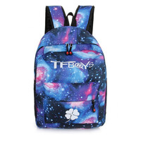 Hot canvas backpack male and female students bag lovers Korean backpack harajuku style backpack