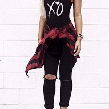 XO The Weeknd Bodysuit - XO bodysuit - The weeknd concert outfit by Cake Life®
