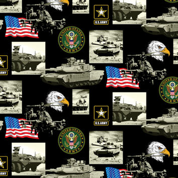 Licensed Cotton Fabric- Army Military | Jo-Ann