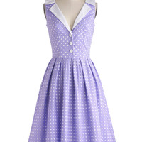 Love You Brunches Dress in Lilac | Mod Retro Vintage Dresses | ModCloth.com