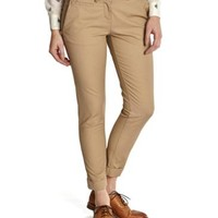 Fudge Hepburn Womens Cropped Chino | Joules US