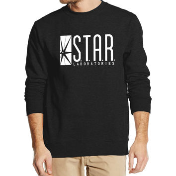 Superman Series Men Sweatshirt STAR S.T.A.R.labs autumn winter  2016 new fashion hoodies cool streetwear tracksuit high quality