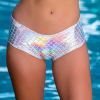 Rainbow Fish Booty Short Bottoms