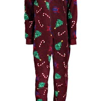 Novelty Christmas Tree Onesuit