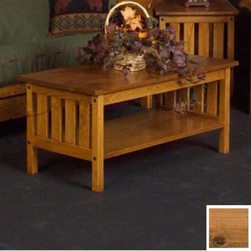 Viking Pine Mission Coffee Table