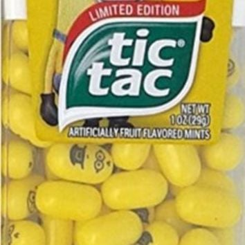 Limited Edition Despicable Me Minions Tic Tac