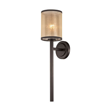 Diffusion 1 Light Wall Sconce In Oil Rubbed Bronze
