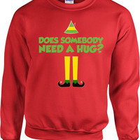Buddy The Elf Sweater Funny Christmas Sweater Movie Quotes Christmas Hoodie Holiday Gifts Christmas Sweatshirt Presents For Holidays - SA494