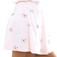 Love Letter Skirt - INU INU
