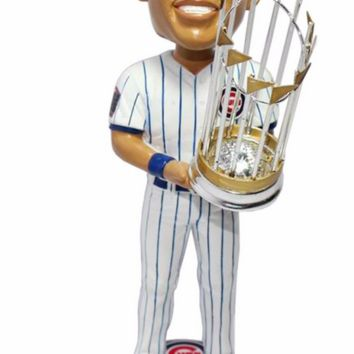 2016 World Series Champions Chicago Cubs Addison Russell Bobblehead By Forever Collectibles
