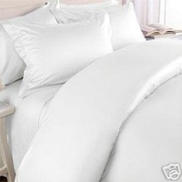 Clara Clark Affordable Microfiber 4 pc Bed Sheet Set - Queen Size, White