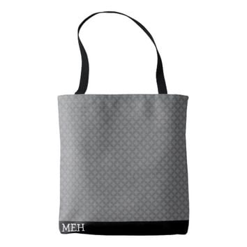 GS Overlapping Spots Minor Monogram Tote Bag