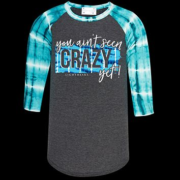 Couture Lightheart Crazy Yet Raglan Long Sleeve T-Shirt