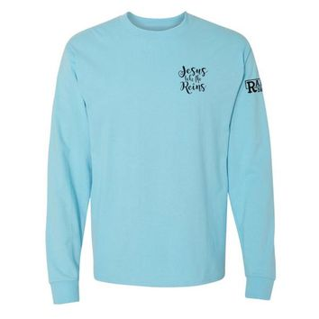 JESUS TAKE THE REINS - LONG SLEEVE TEE