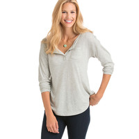 Heather Relaxed Henley