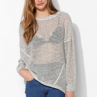 Sparkle & Fade Slouch Sweater - Urban Outfitters