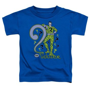 Dc - The Riddler Short Sleeve Toddler Tee Shirt Officially Licensed T-Shirt