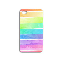 Rainbow Pastel Phone Case Beautiful iPod Case Cute iPhone Cover iPhone 4 iPhone 5 Case iPhone 4s Case iPhone 5s Case iPod 4 Case iPod 5 Case