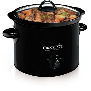 Crock-Pot Manual Slow Cooker, 3 Quart (SCR300-B )