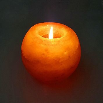 Himalayan Salt Lamp Candle Holder