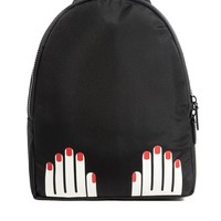 Lulu Guinness Hands Backpack