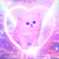 i <3 kittens - 8x8 Print from Funky Catsterz