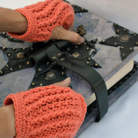 Corral ribbed hand warmers, fingerless gloves, mittens