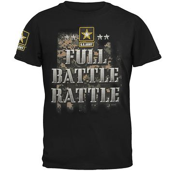 US Army Full Battle Rattle Mens T Shirt