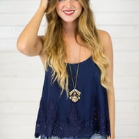 Dolly Lace Tank