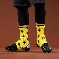 Stars Yellow Spats / Cleat Covers