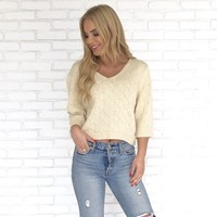 Vita Sweater in Cream
