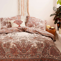Oriel Medallion Duvet Cover - Urban Outfitters