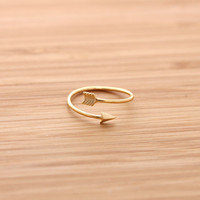cupid's ARROW ring, 3 colors | girlsluv.it