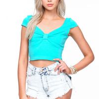 BOWTIE CROP TOP
