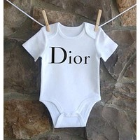Gucci Dio Yves Saint Laurent  Balenciaga Moschino Baby Onesuit