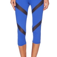 Rese Mia Crop Legging in Blue