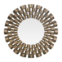 Michael Anthony Furniture  Contemporary Open Weave Mirror
