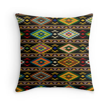 Native American Tribal Aztec Pattern by sale