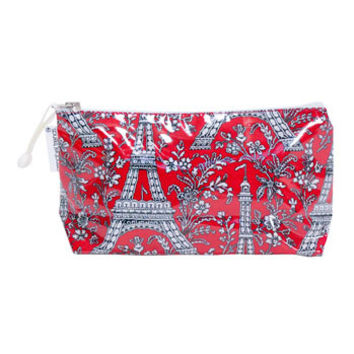 Paris Red Cosmetic Bags