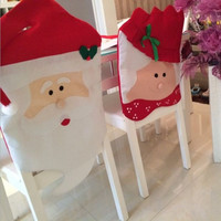 Christmas Decoration Gift Chair Cover [9199617476]