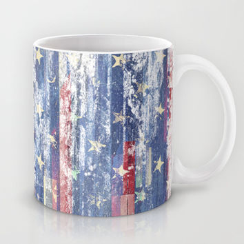 Amerikka Distress Mug by HappyMelvin