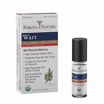 Forces Of Nature Wart Contrl, Organic, Extra - 4 Ml