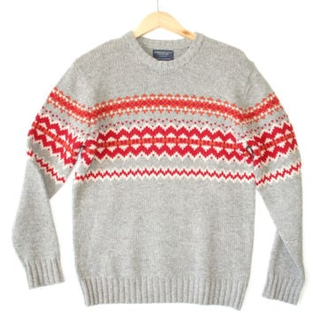 American Eagle Classic Wool Ugly Ski Sweater - The Ugly Sweater Shop