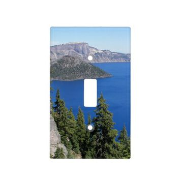 Crater Lake Photo Light Switch Plates