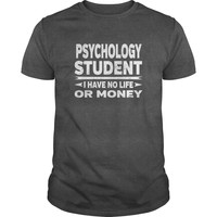 Psychology College Student No Life or Money