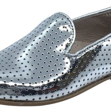 7a73476661e Hoo Shoes Boy s and Girl s Smoking Loafer