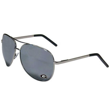 Georgia Bulldogs NCAA Aviators Sunglasses